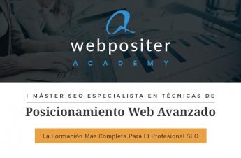 Foto de Máster SEO Avanzado Webpositer Academy