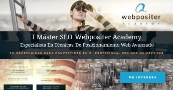 Foto de I Máster SEO Webpositer Academy para profesionales digitales