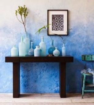 Foto de air blue esponjeado