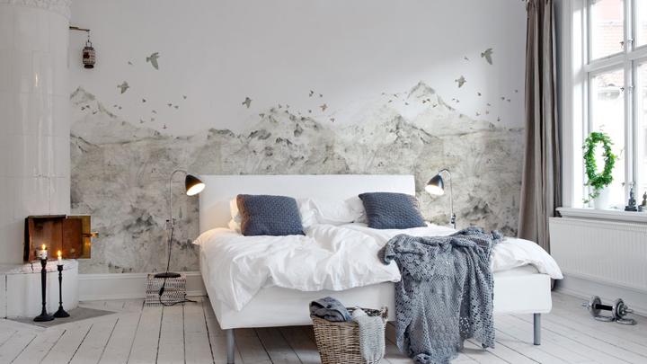 Los estampados en las paredes se convertir n en tendencia - Poner papel pintado ...