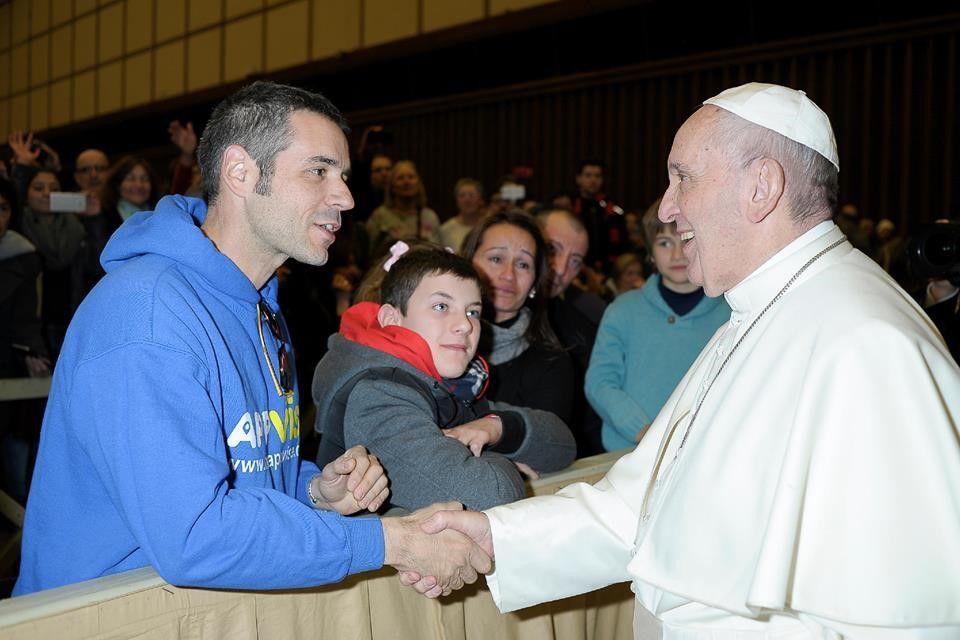 Foto de Appvise se reúne con el Papa Francisco