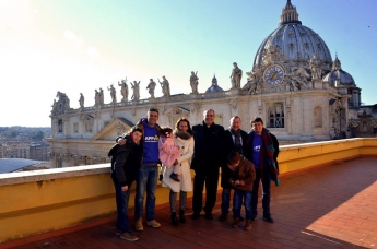 Foto de Appvise presenta su proyecto al Papa Francisco