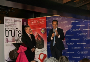 Foto de EL Cid, recoge su Premio Trufa Negra La Barrosa J-Belmonte