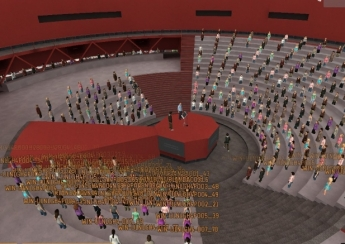 Imagen del auditorio de The Education District