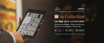 urCollection, la App para comerciales