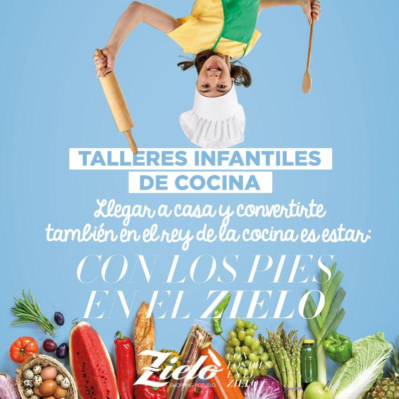 Talleres infantiles gratuitos de cocina en Zielo Shopping Pozuelo
