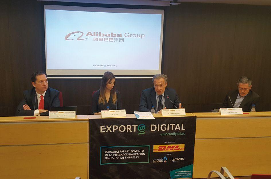Foto de Presentación de la iniciativa Export@ Digital