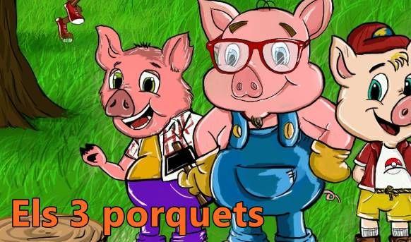 Descuentos para teatro infantil en Badalona: 'Els 3 porquets' (4 de marzo)