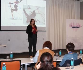 Sarah Harmon, Directora de LinkedIn España, principal ponente del evento sobre Transformación Digital de EUROFORUM