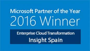 Foto de Partner del año Microsoft 2016