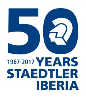 Logo STAEDTLER IBERIA 50 ANIVERSARIO