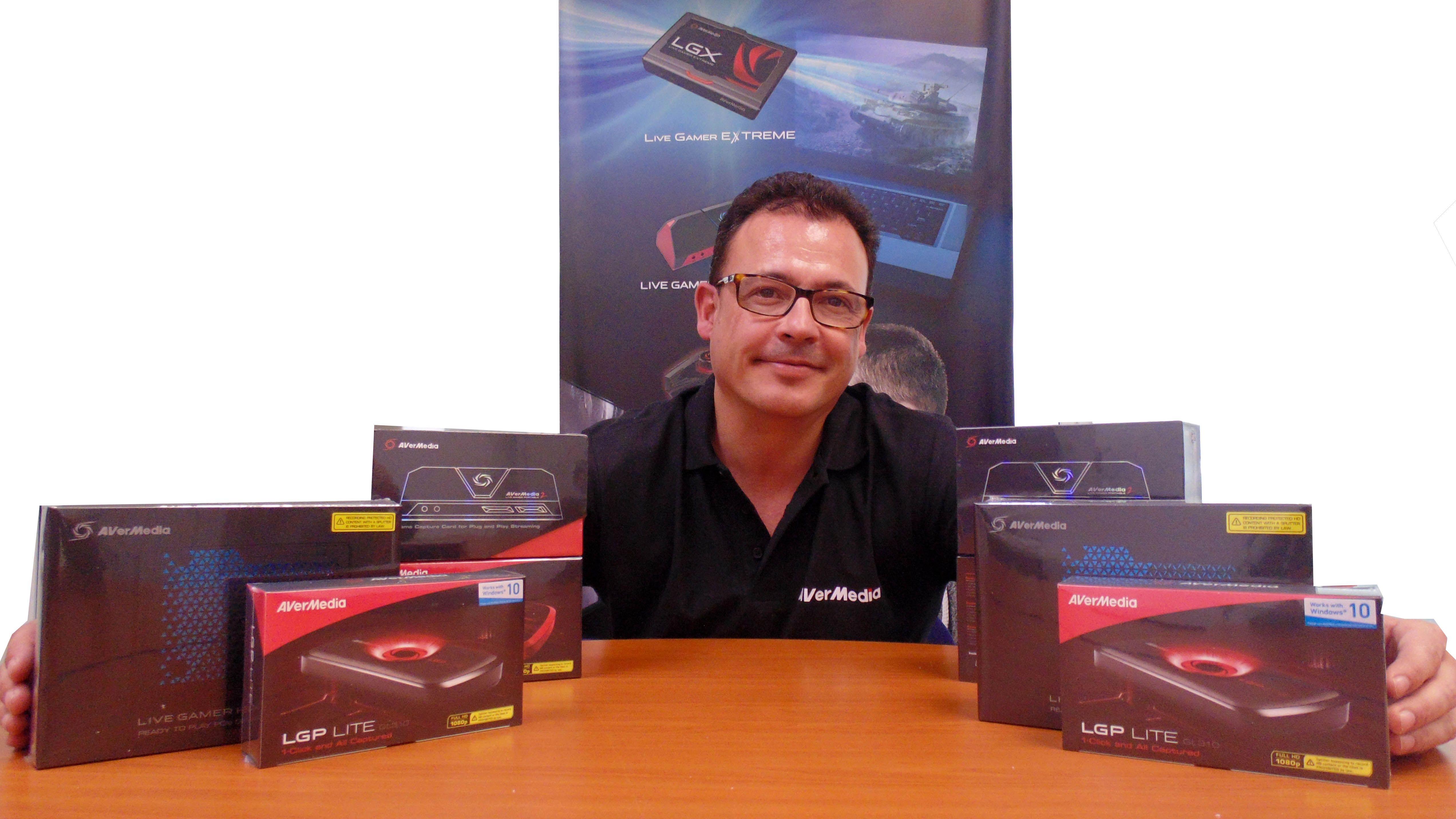 Foto de AVerMedia incorpora a Luis Muiño como Business Development