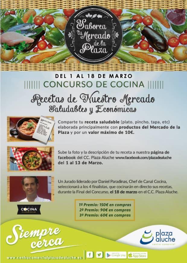 Concurso de cocina y showcooking en c c plaza de aluche for Canal cocina en directo