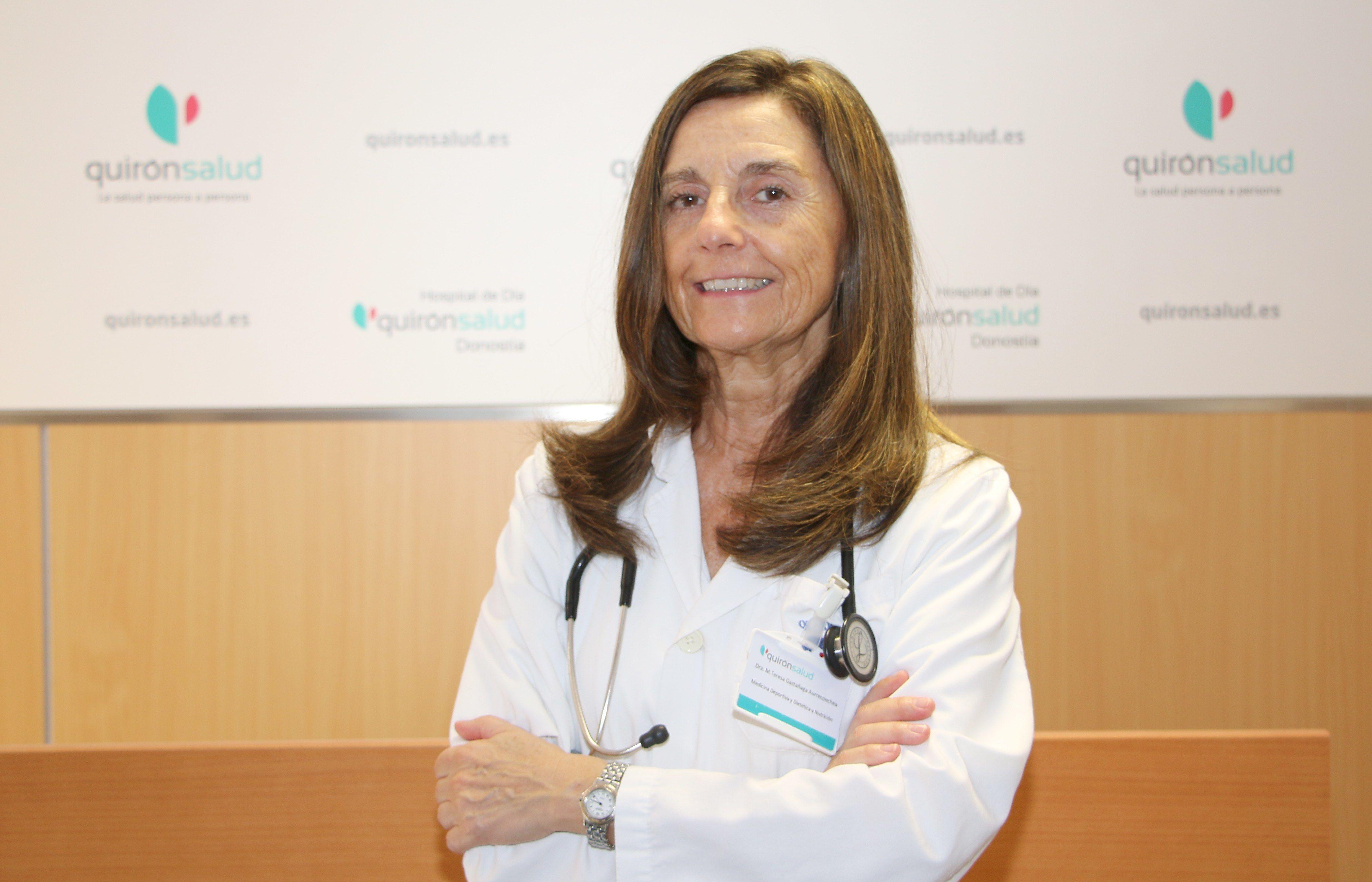 Foto de Teresa Gaztañaga, del Servicio de Medicina del Deporte,