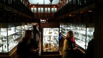 Foto de Visitantes en el Museo Histórico Minero D. Felipe de Borbón