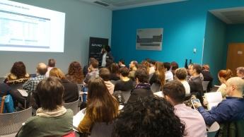 Imagen de la sesión formativa celebrada esta mañana en la sede central de SPYRO.