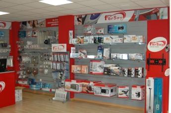 Interior tienda Fersay