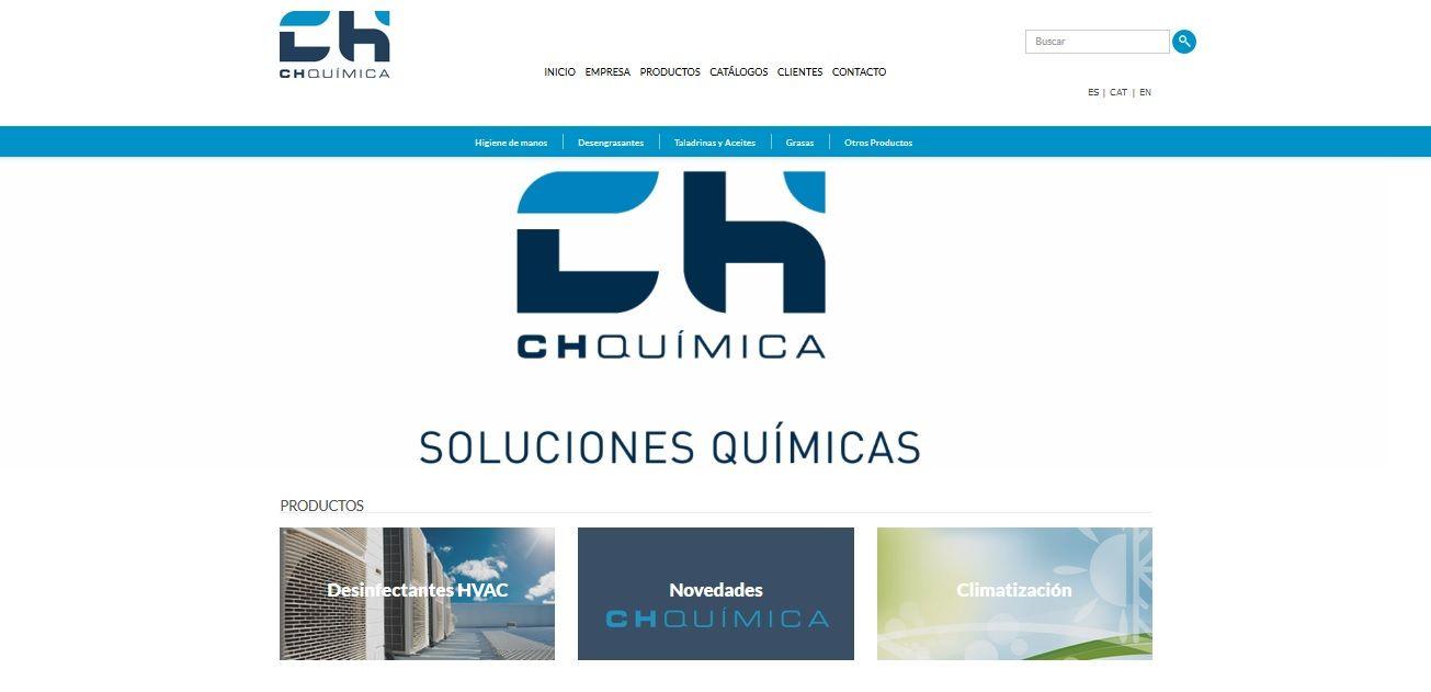 Foto de Web ChQuímica