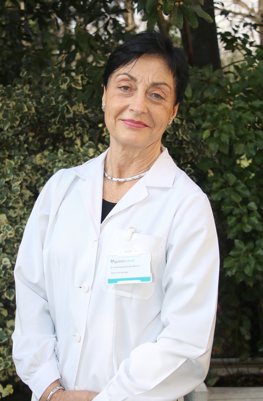Foto de Gemma Garmendia, otorrinolaringóloga del Hospital de Día