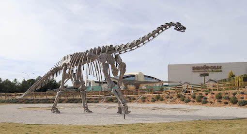 Foto de Esqueleto completo Turiasaurus