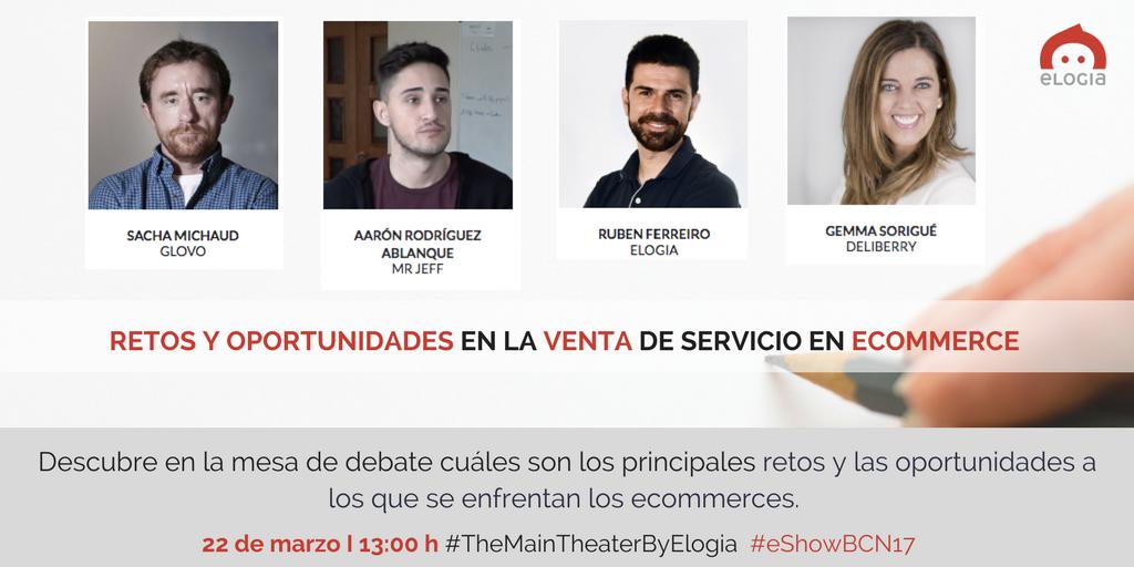Elogia patrocina el programa de ponencias VIP en el eShow que arranca esta semana en Barcelona