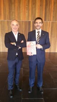 Esteban Calahorra y Javier Beorlegui presentan el Informe de Mercado Inmobiliario Alfa 10