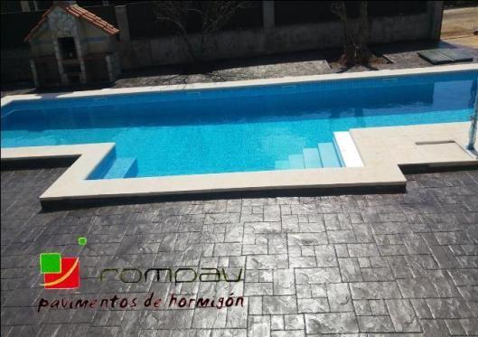 Pavimentos de hormig n impreso no solo una soluci n for Precio construccion piscinas hormigon