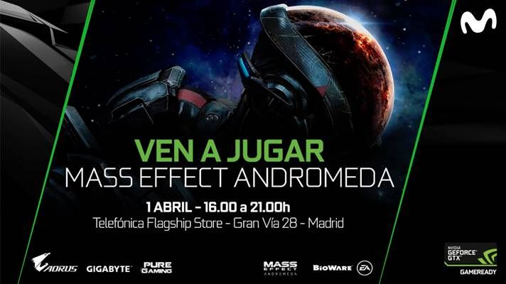 EA y NVIDIA celebran un evento exclusivo de Mass Effect: Andromeda en Madrid