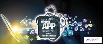 Clepio Mejor App Sanitaria 2016