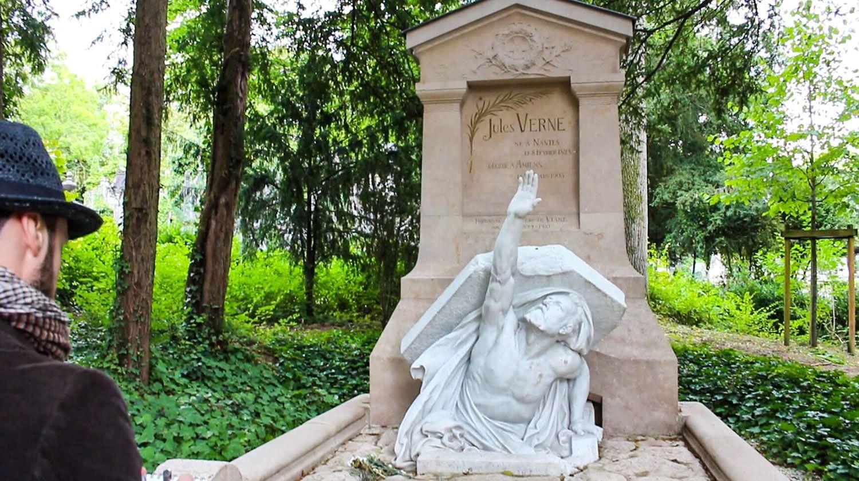 Foto de Jules Verne Tomb