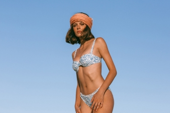 Foto de Simos bikini en estampado Floral Blue