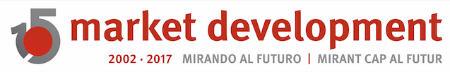Market Development presenta el logotipo conmemorativo del decimoquinto aniversario