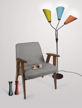 """Varias piezas expuestas en """"Bruselas en Praga, Picasso en Varsovia. Diseño en Europa Central 1956 – 1968"""""""