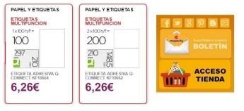 Megacity ofrece las etiquetas adhesivas más económicas del mercado