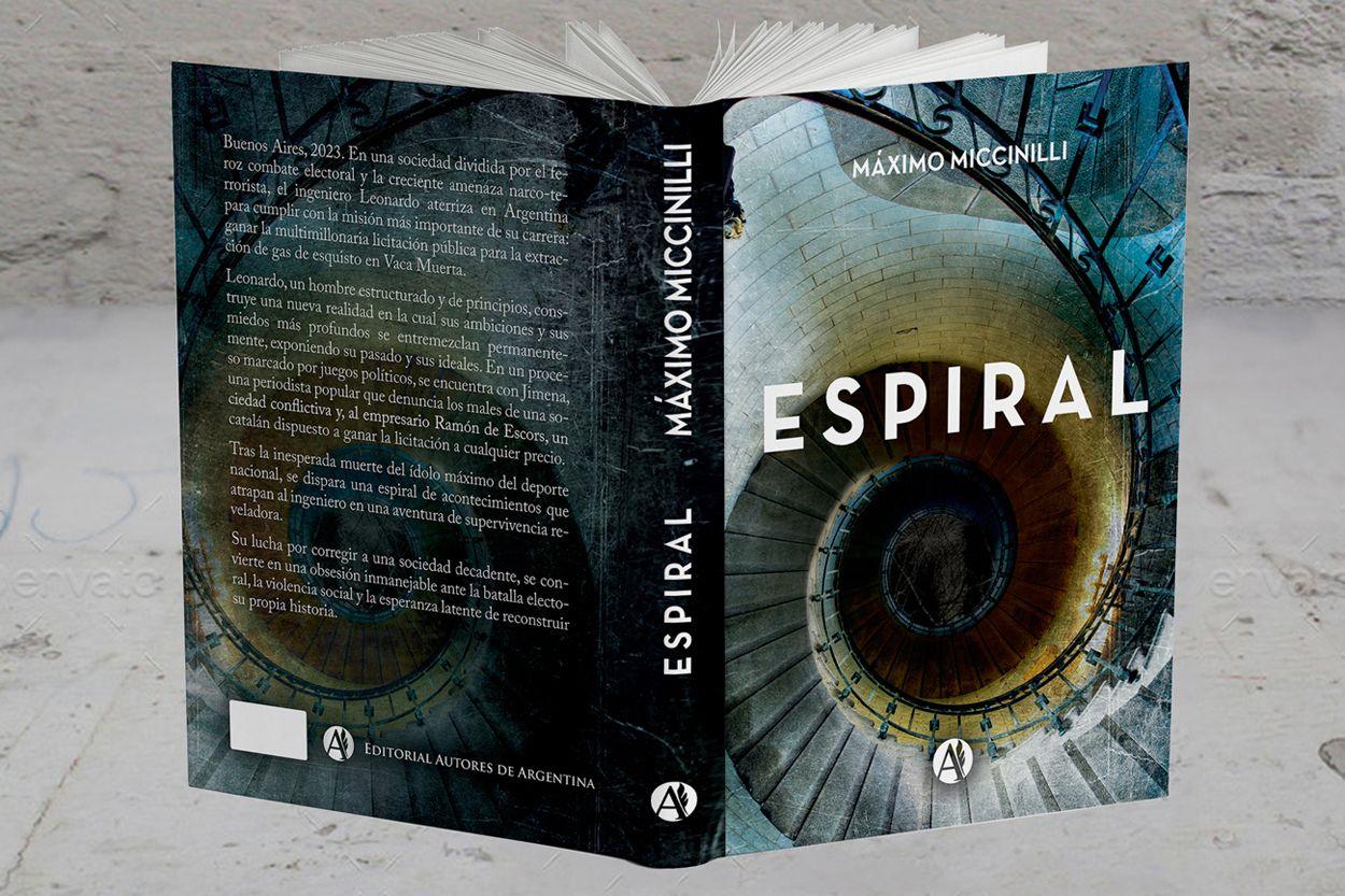 "Foto de ""Espiral"", novela política shock"