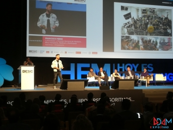 Hoy es Marketing Madrid 2017 Adam Expo Stand stands