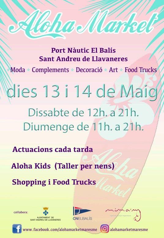 Nueva edicio n de aloha market en sant andreu de - Tiempo llavaneres ...