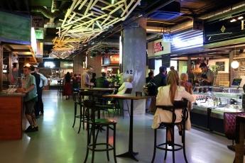 Foto de Vista interior de Food Market Barceló.
