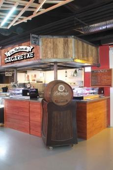 Foto de Los Pintxos de Sagarretxe, uno de los puestos de Food Market