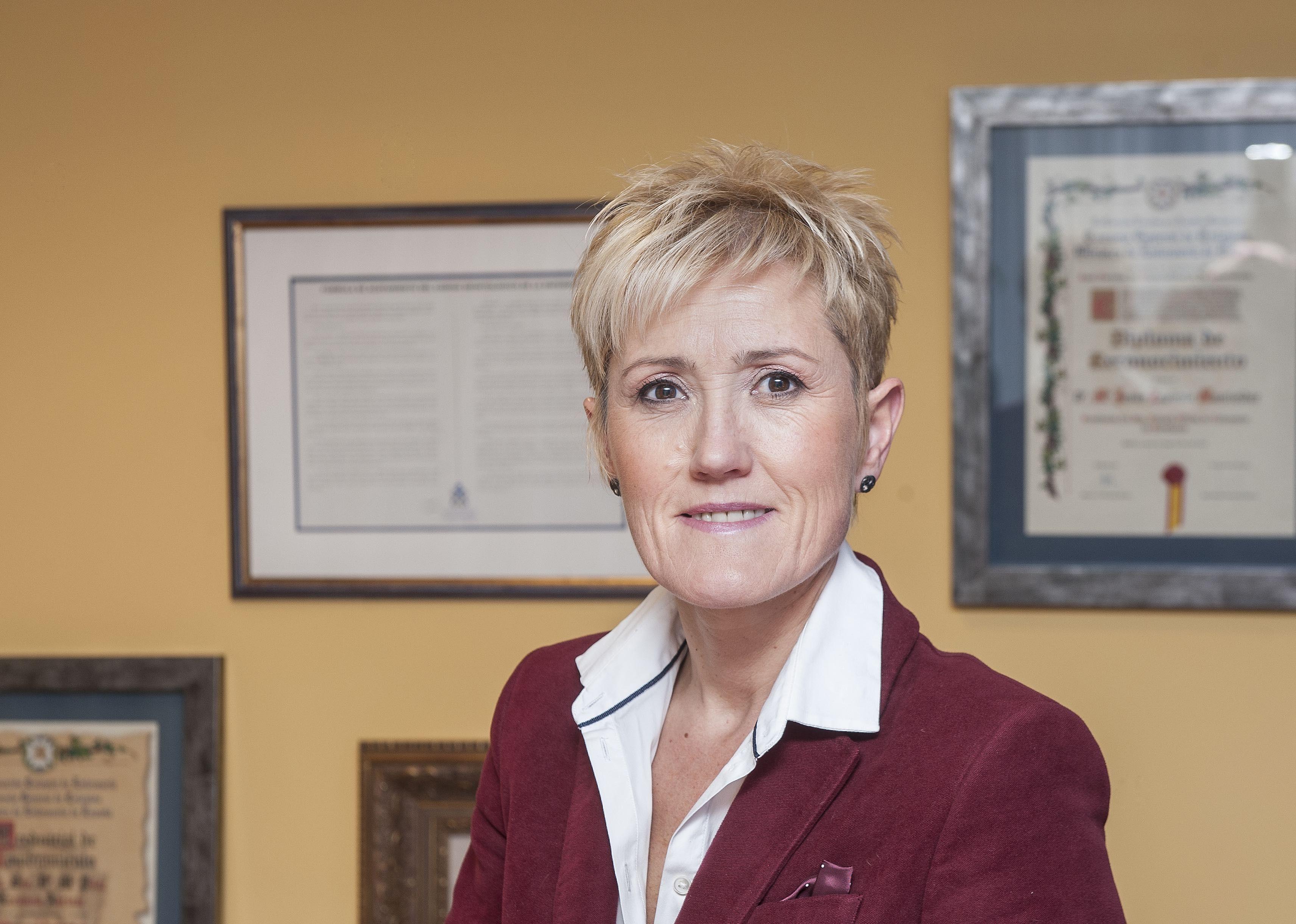 Foto de La presidenta del COEGI, Pilar Lecuona.