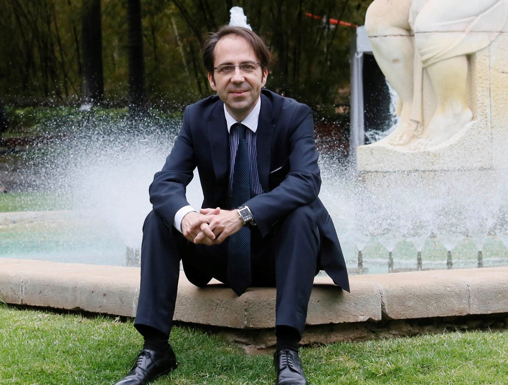 Foto de Gerardo Pérez Sánchez presenta