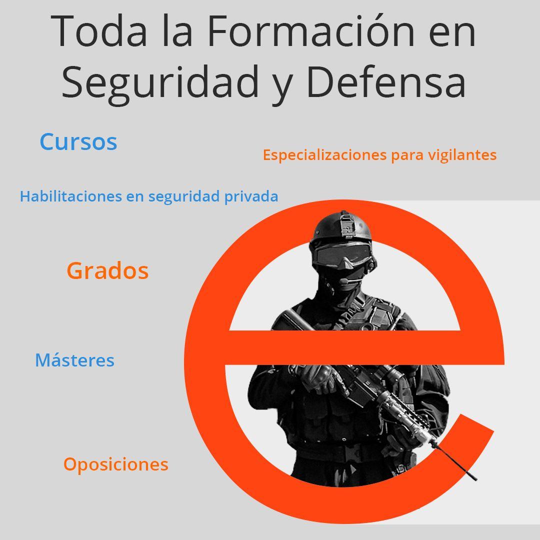 Un portal especialista en formaciones de seguridad y defensa