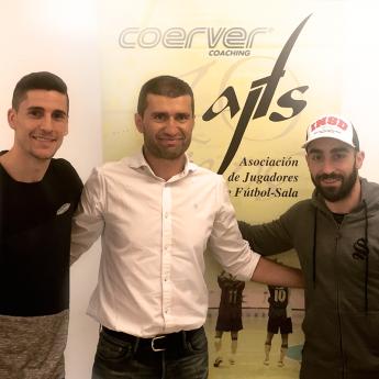 Carlos Ortiz, Javier Orol y Ricardinho