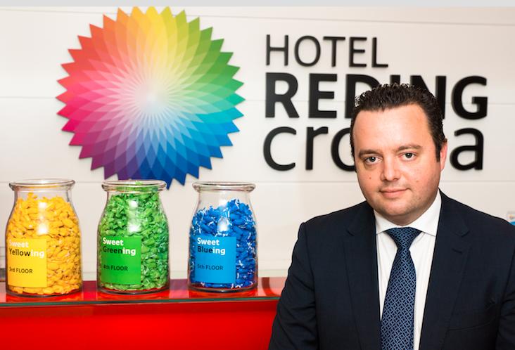 Foto de Stefan Janer, Director del Hotel Reding Croma