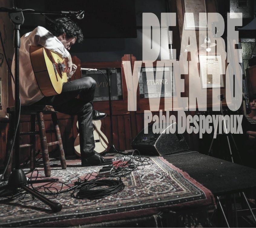 Pablo Despeyroux presenta 'De Aire y Viento', su nuevo disco de guitarra flamenca