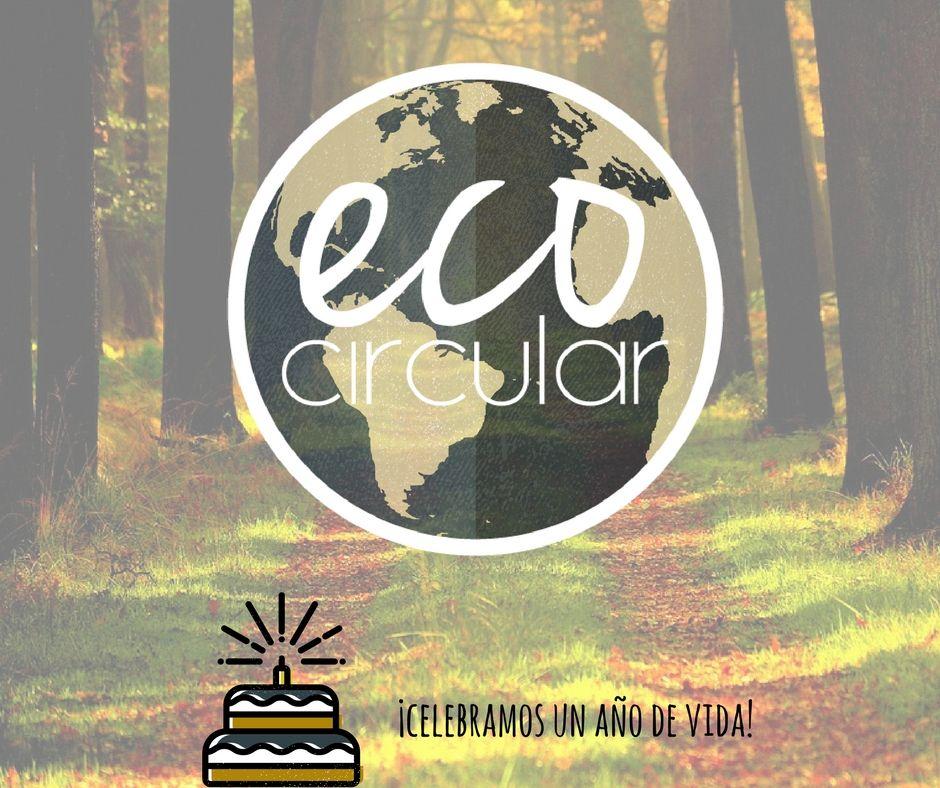 Foto de primer aniversario eco circular