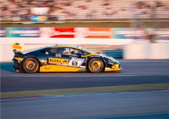 Equipo Dörr Motorsport- Giti Tire compitiendo en la 24h Nurburgring 2017