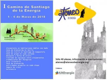 Cartel I Camino de Santiago de la Energía