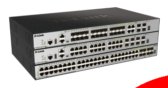 D-Link Switches Gestionables L3 Stack