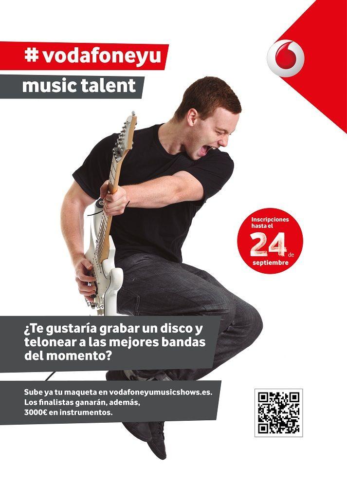 Foto de Vodafone Yu Music Talent